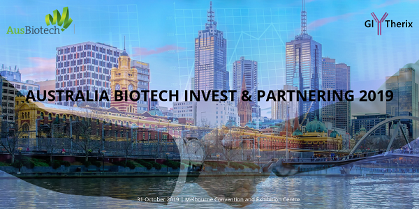 GlyTherix is presenting at AusBiotech Invest & Partnering 2019